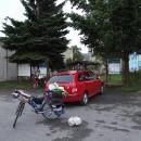 Auto opouštíme v Lesné