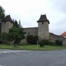Středověké hradby Tachova