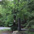 Pomník u bývalého Jalového dvora