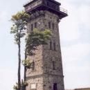 Rozhledna jménem Kurzova věž na vrcholu Čerchova (1041 m.n.m.) toho hodně pamatuje