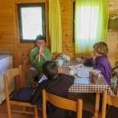 V chatičce