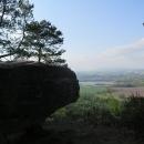 Pozůstatky skalního hradu Stará Hrada