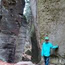 Nebyli jsme líní zajít si až dozadu, do skalní rokle Fortna