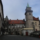 Na zámku Hrubá skála