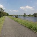 V Rühstädtu se z Labe odpojuje Havelský plavební kanál. Je to pár nádherných kilometrů s výhledem na řeku.