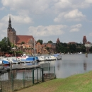 Pohled na Tangermünde od řeky
