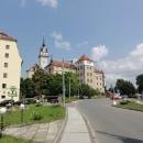 ...jemuž dominuje renesanční zámek Hartenfels.
