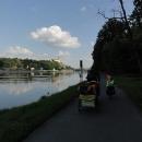 """V Mělníce se zpívá """"tam kde se stéká, tam u Mělníka, proud řeky Labe s Vltavou"""" a pro nás tu končí jedna etapa Labské stezky."""