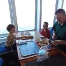 Snídaně v lodním bufetu za polské zloté