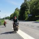 Po cyklostezce se vydáváme směrem na Stockholm.