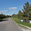 Obydlí jsou rozesety po krajině, majitelé mají většinou ale schránky u silnice