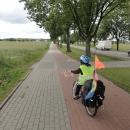 Cyklostezka před Slupskem