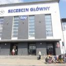 Nádraží ve Štětíně, kde končí jedna část naší letošní dovolené.