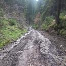 Jen kdyby slovenské turistické cesty nevedly potokem :-)