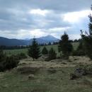 Louky planiny Svorad a před námi Velký Choč