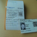 Průkazka pro bezplatnou přepravu dětí na Slovensku. Pokud máte děti do 15 let, a občas jedete na Slovensko vlakem, doporučuji, vyplatí se to.