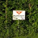 První setkání s minovým polem - v Chorvatsku jsou naštěstí značena