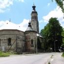 Válkou poničený kostel - mnoho chorvatských vesnic bylo opravováno za pomoci různých zemí světa
