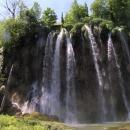 Nejkrásnější vodopád - Veliki Prštavci, škoda že se nedá jít pod něj