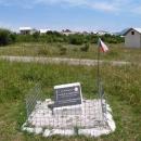 Na památku zahynulého českého vojáka z války