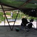 Oběd v Kninu v úporném poledním vedru
