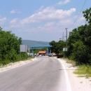 První vstup do Bosny u Imotského, mířím na Mostar