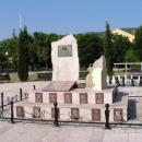 Památník na španělské vojáky SFOR