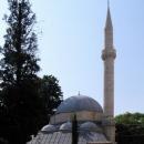 Malá mešita v mostarském muslimském starém městě