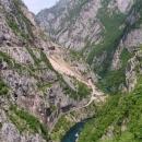 Kaňon Pivy pod přehradou (za tuto fotku se už na mě řítil hlídač přehrady)