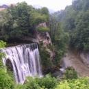 Vodopád ve městě Jajce