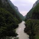 Kaňon řeky Vrbas před Banja Lukou