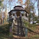 Altán v soběslavském parku