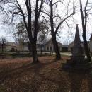Vesnická náves, selské baroko všude kolem
