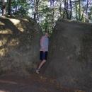 Jeho menší bratříček (tzv. Malý buchlovský kámen)