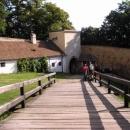 První nádvoří hradu Buchlov