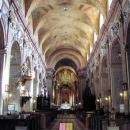 Vnitřek Baziliky Panny Marie Nanebevzaté ve Velehradě