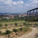 Mlýn slouží k setkávání lidí při různých slavnostech, jako rozhledna (toto je výhled na Bukovany) ...