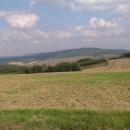 Výhled směrem k pohoří Chřiby kam zase jedeme :-)
