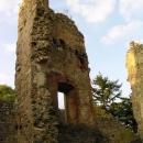 Torza paláců hradu Cimburk
