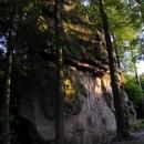 Skalní útvar Kozel - další z mnoha zajímavých skalních útvarů v Chřibech