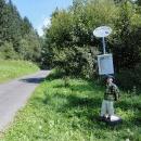 Autobusová zastávka 50 metrů od baráku :-)