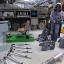 Interiér vojenského muzea