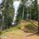 Srdíčko nás zavede k bývalému hradu Fort Frederyka. Minule se nám sem pro bahno nechtělo.