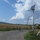 Polská módní šílenost. EKO veřejné osvětlení. Na solár a vítr.
