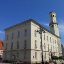 Renovované náměstí v Bystřici Klodské