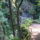Vyhlídka na vodopád Wilczki