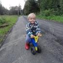 Plastová motorka je pro začínající cyklistky výborná