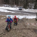Když je v zimě málo sněhu, hurá na kolo!