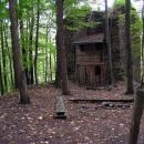 Předsunutá věž předhradí (se zabudovanou chajdou)