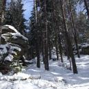Vrcholová skaliska Cikánského vrchu